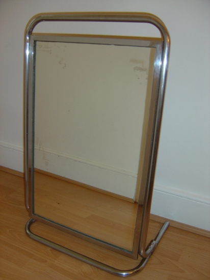 Modernist Mirrored Firescreen