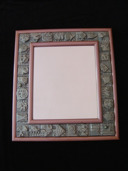Ron Hitchins Tile Mirror